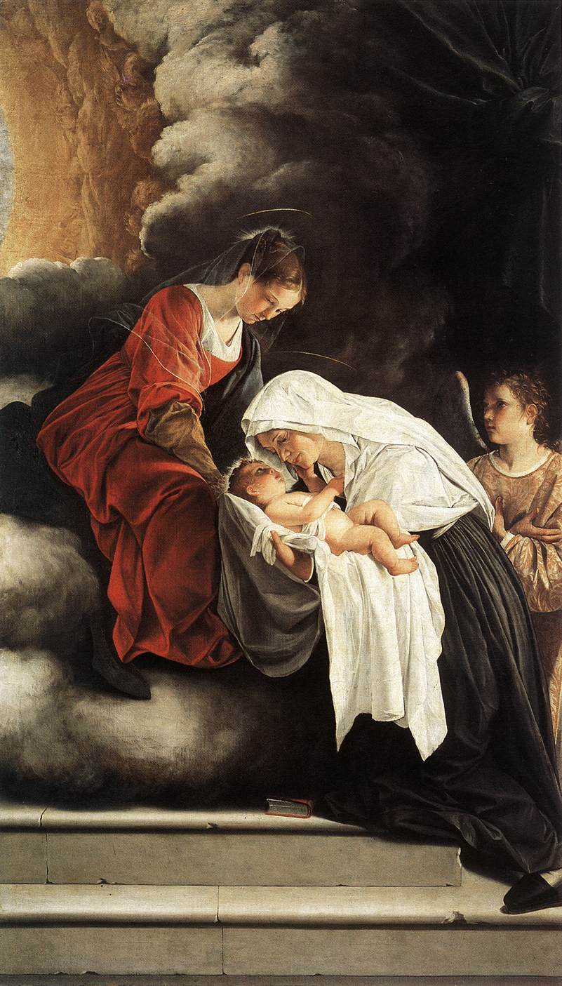 The Vision Of St Francesca Romana 1615-19 | Orazio Gentiles | Oil Painting