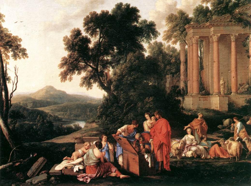 Laban Searching Jacobs Bagagge For The Stolen Idols 1647 | Laurent De La Hire | Oil Painting