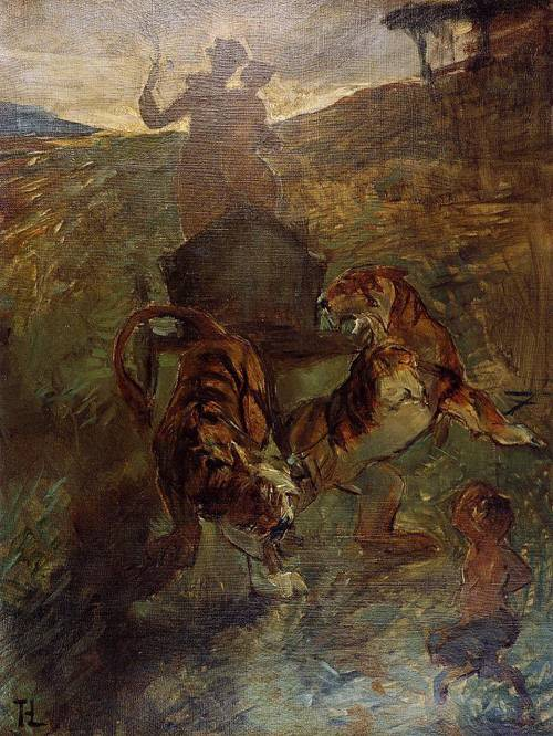 Allegory Springtime of Life 1883 | Henri Toulouse Lautrec | Oil Painting