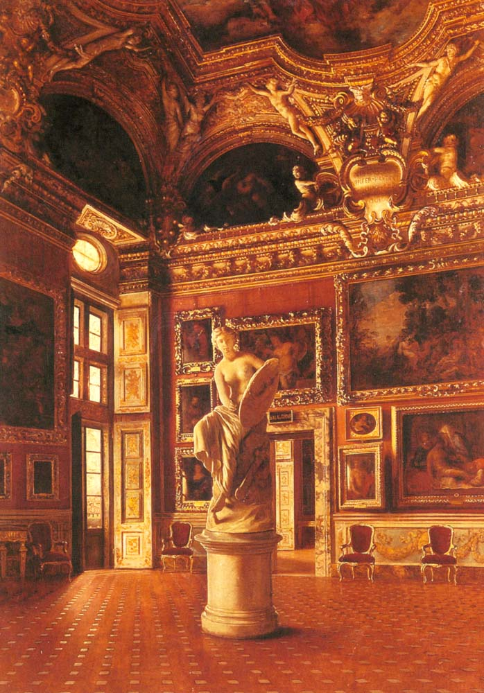 Pitti Palace Florence | Oreste Costa | Oil Painting