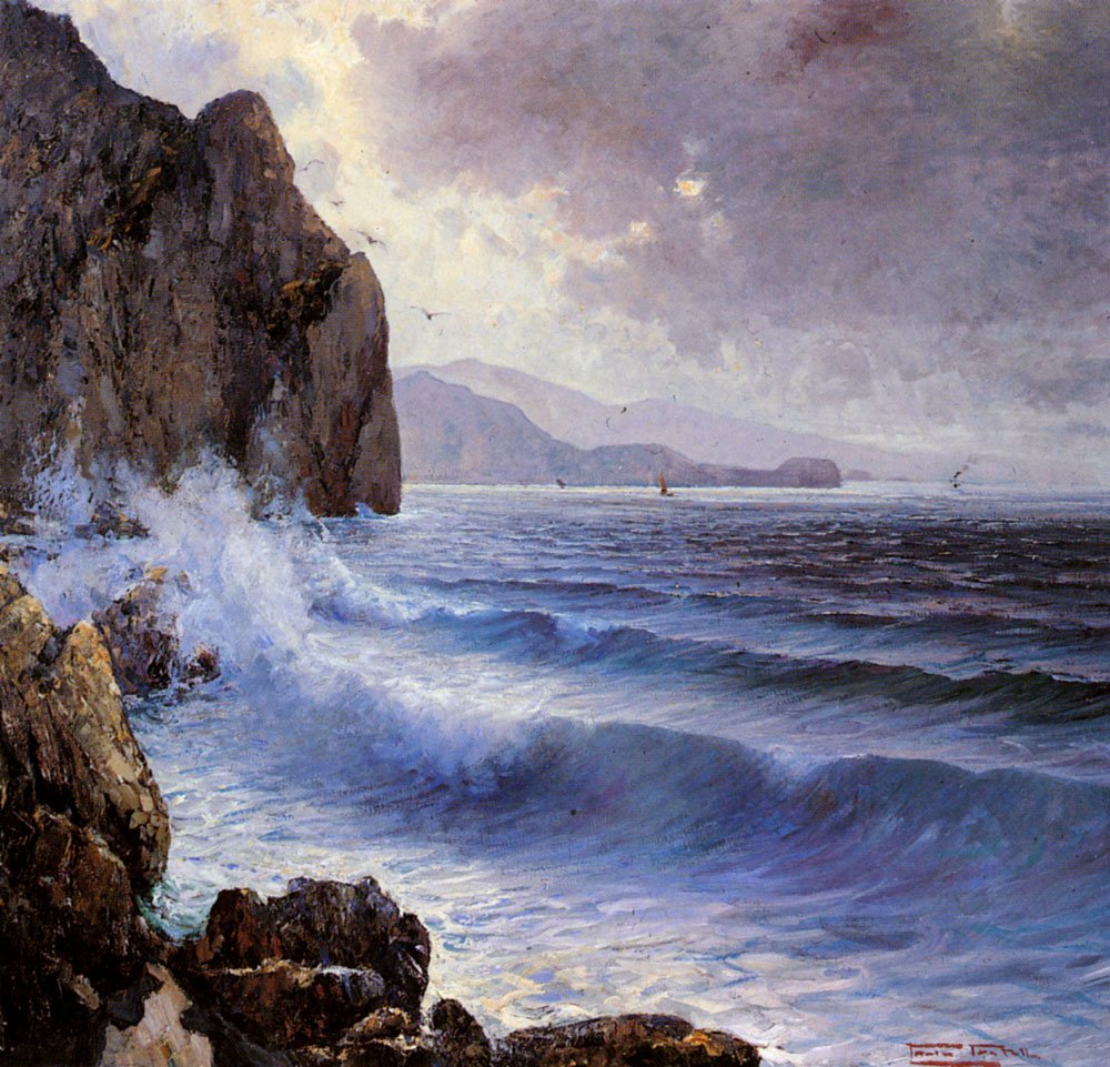A Rocky Coast | Paolo Pratella | Oil Painting