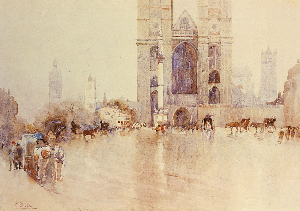 Westminister Abbey | Paolo Sala | Oil Painting
