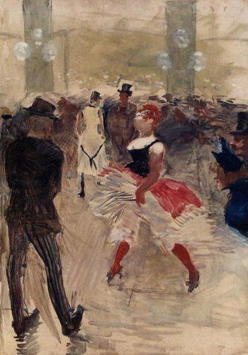 A l-Elysee-Montmartre 1888 | Henri Toulouse Lautrec | Oil Painting