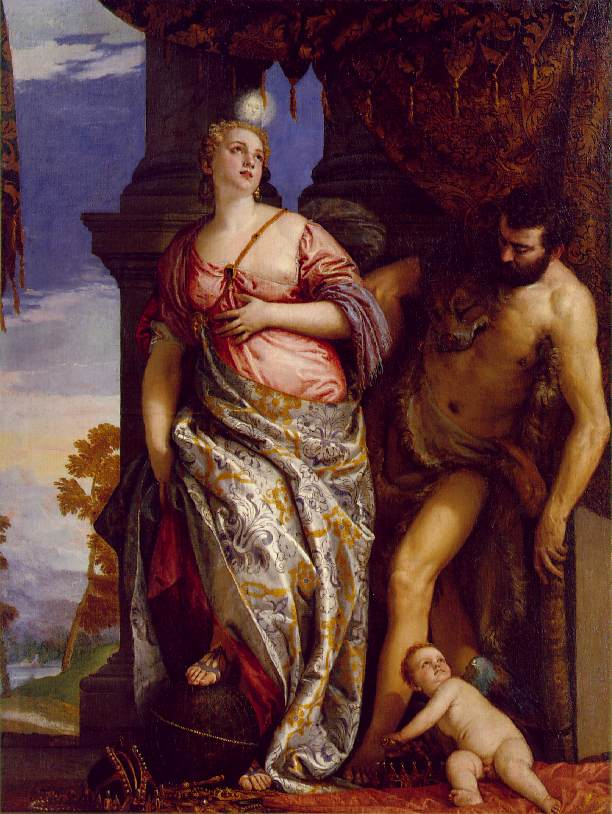 Allegory Of  Wisdom And Strength 1580 | Paolo Veronese | Oil Painting