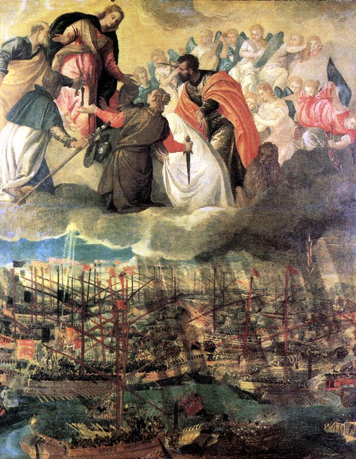 Battle Of Lepanto 1572 | Paolo Veronese | Oil Painting