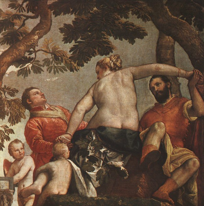 The Allegory Of Love Unfaithfulness 1570 | Paolo Veronese | Oil Painting