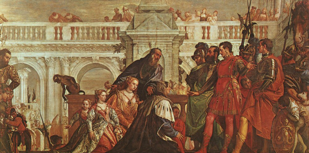 The Family Of Darius Before Alexander | Paolo Veronese | Oil Painting