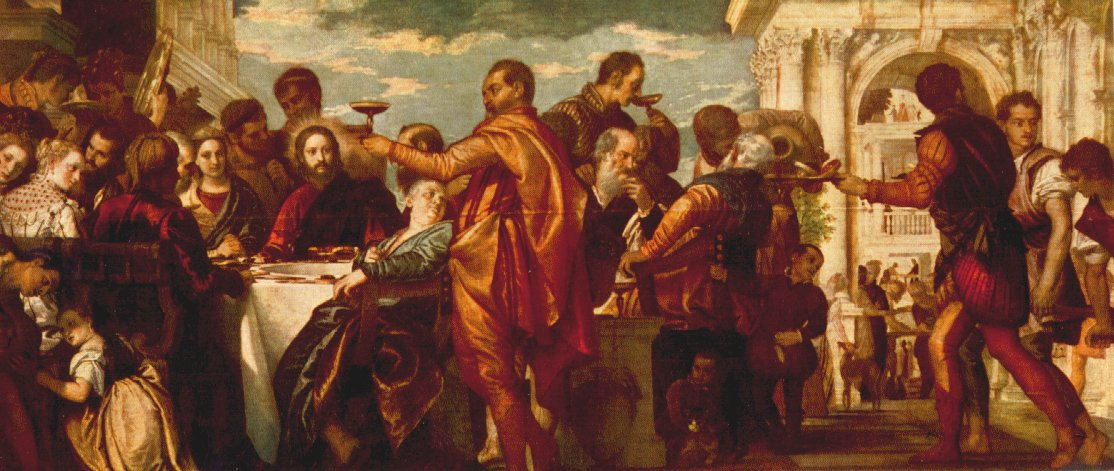The Marriage At Cana 1560 | Paolo Veronese | Oil Painting