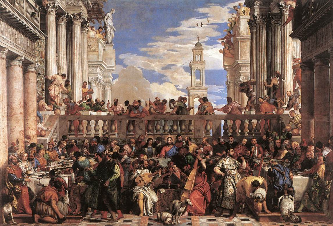 The Marriage At Cana 1563 | Paolo Veronese | Oil Painting