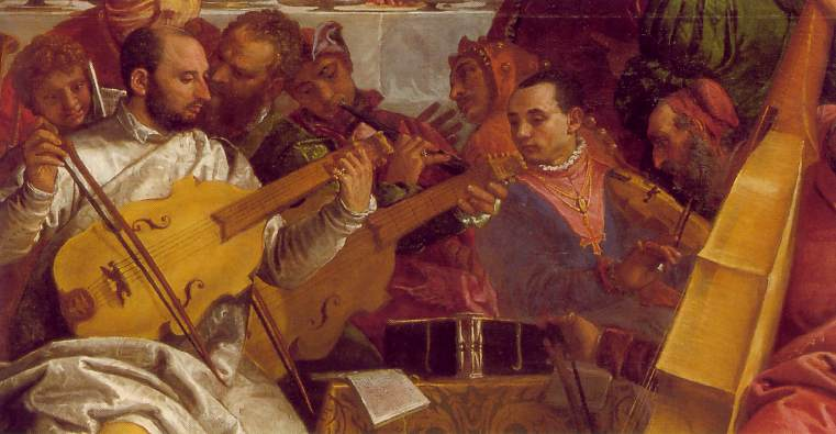 The Marriage At Cana Detail 2 1563 | Paolo Veronese | Oil Painting