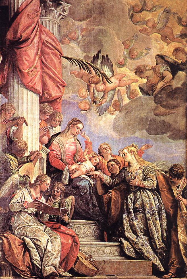 The Marriage Of St Catherine 1575 | Paolo Veronese | Oil Painting