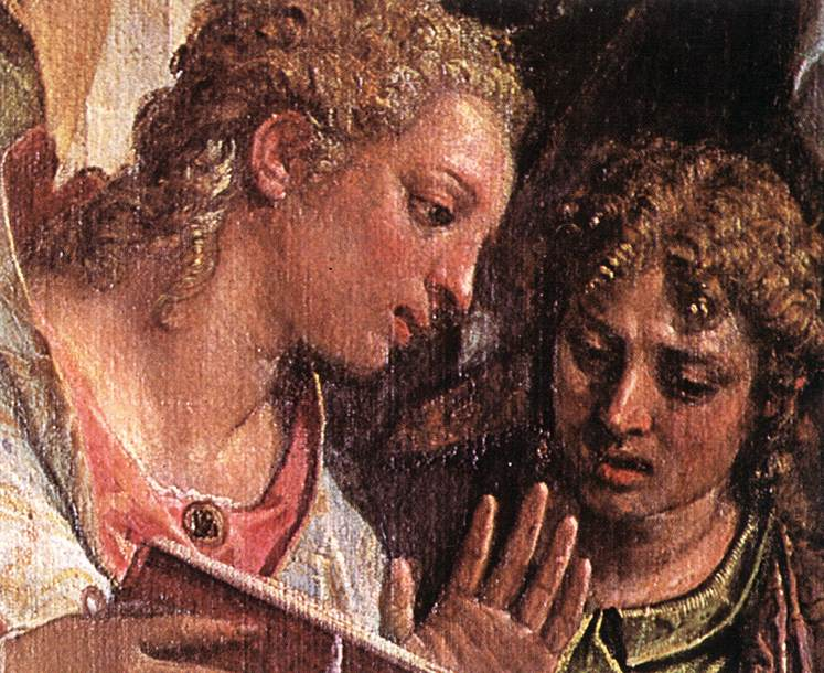 The Marriage Of St Catherine Detail 1575 | Paolo Veronese | Oil Painting