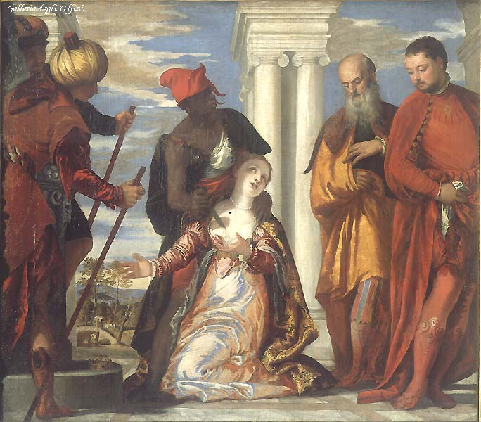 The Martyrdom Of St Justine 1573 | Paolo Veronese | Oil Painting