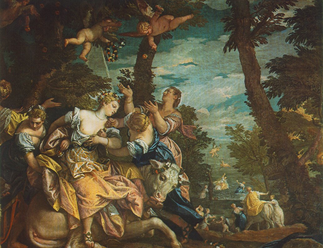 The Rape Of Europe 1580 | Paolo Veronese | Oil Painting
