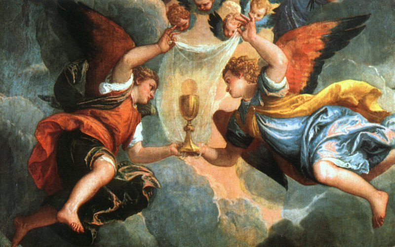 The Vision Of Saint Helena 1580 | Paolo Veronese | Oil Painting