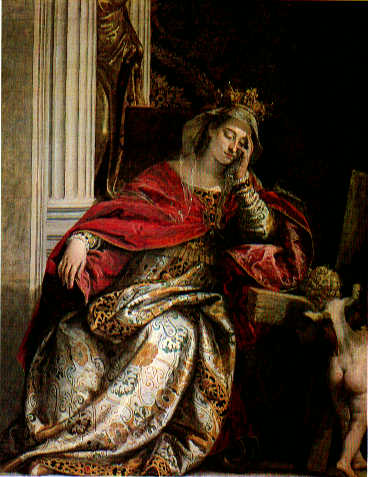 The Wife Of Zebedee Interceding With Christ Over Her Sons Detail | Paolo Veronese | Oil Painting
