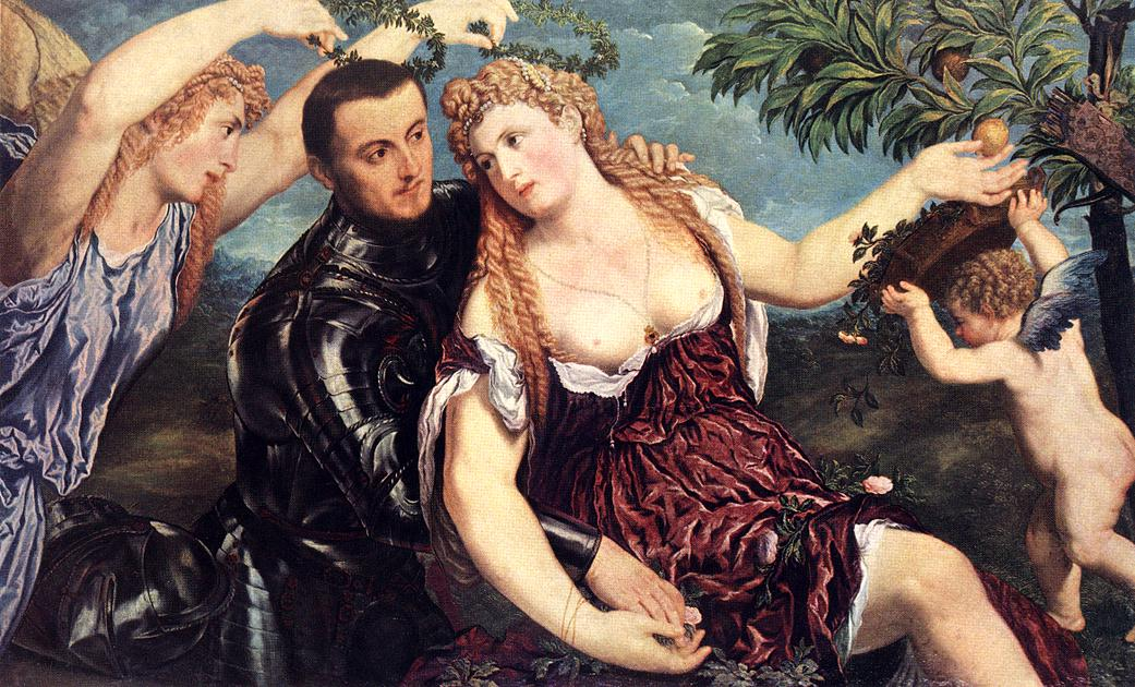 Allegory With Lovers 1550 | Paris Bordone | Oil Painting