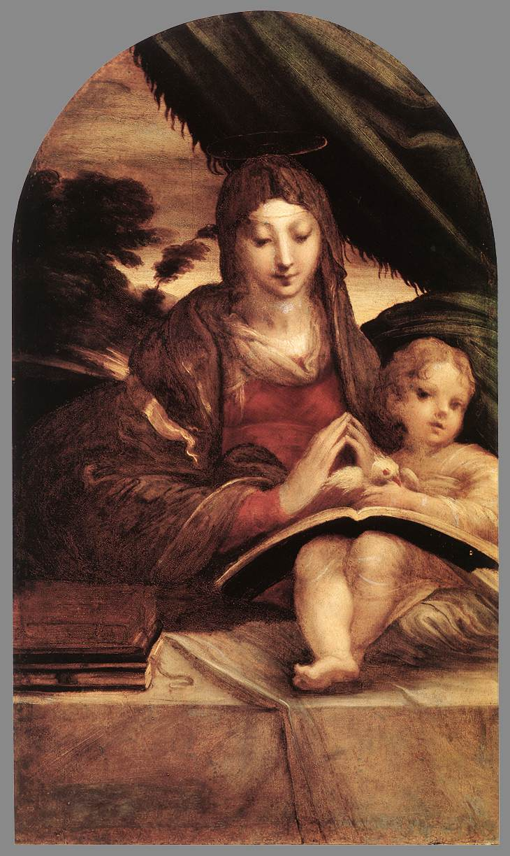 Madonna And Child 1525 | Parmigianino | Oil Painting