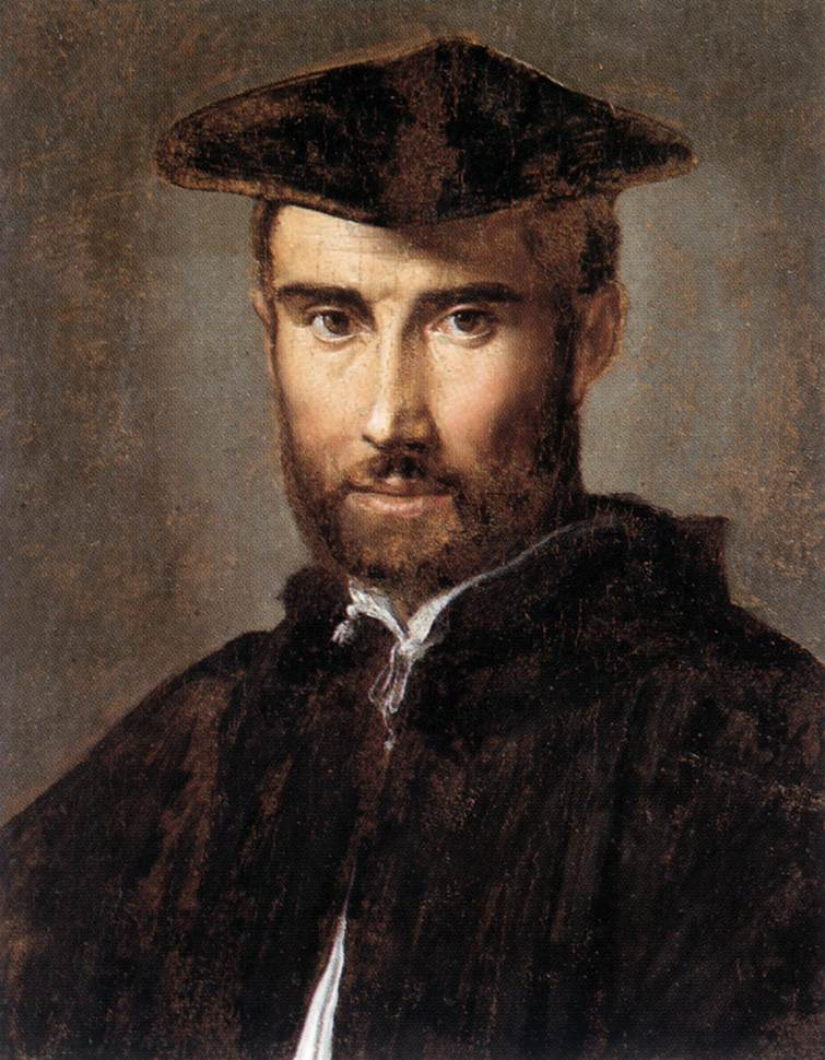 Portrait Of A Man 1528-30 | Parmigianino | Oil Painting