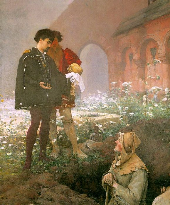 Hamlet And The Gravediggers 1883   Pascal Adolphe Jean Dagnan-bouveret   Oil Painting