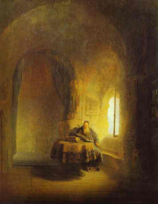 Philosopher Reading 1631 | Rembrandt | Oil Painting