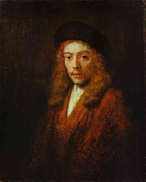 Portrait Of Titus 1663 | Rembrandt | Oil Painting