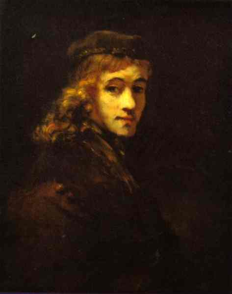 Portrait Of Titus The Artists Son | Rembrandt | Oil Painting