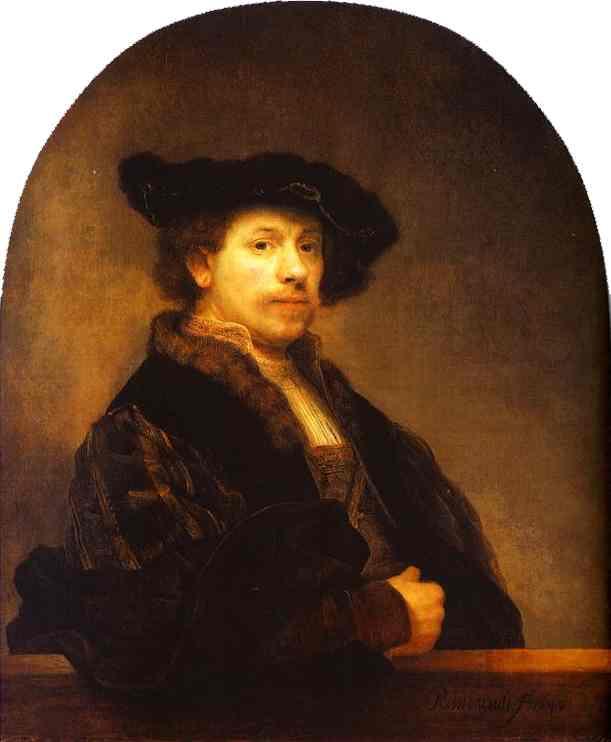 Self Portrait 1640 | Rembrandt | Oil Painting