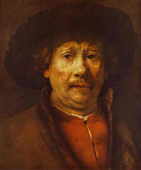 Self Portrait 1656-58 | Rembrandt | Oil Painting
