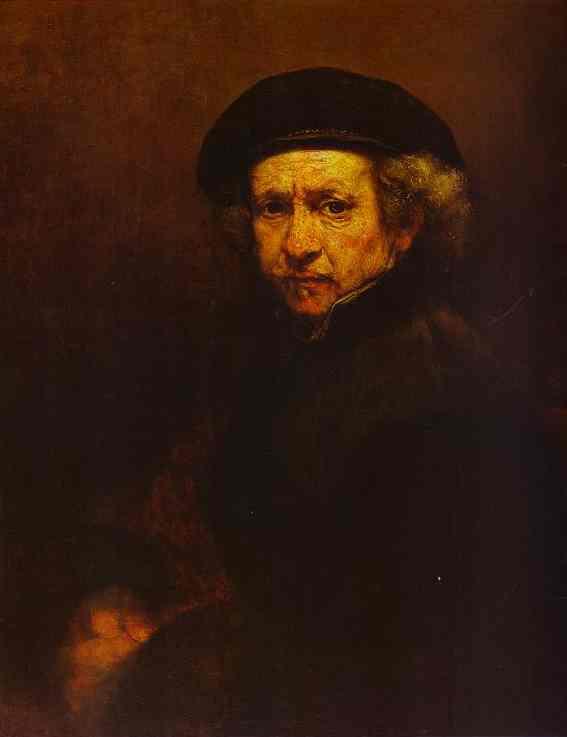 Self Portrait 1659 | Rembrandt | Oil Painting