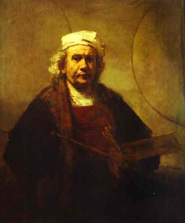 Self Portrait 1661 | Rembrandt | Oil Painting
