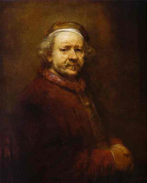Self Portrait 1669 | Rembrandt | Oil Painting
