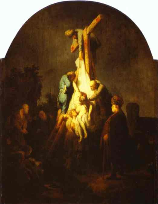 The Descent From The Cross 1633 | Rembrandt | Oil Painting