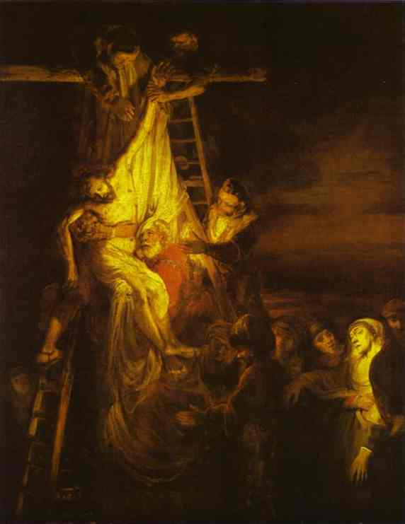 The Descent From The Cross 1651 | Rembrandt | Oil Painting