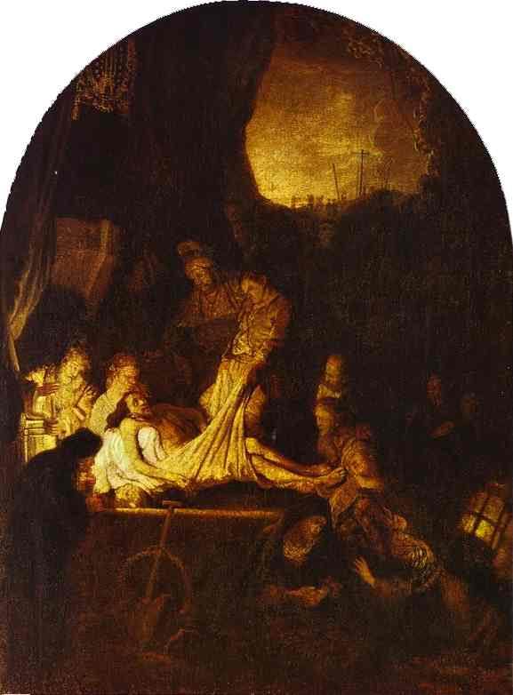 The Entombment 1639 | Rembrandt | Oil Painting