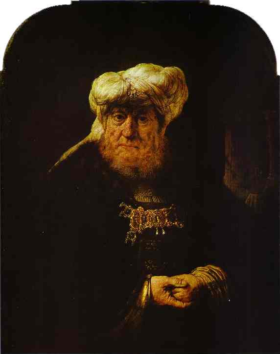 The King Uzziah Stricken With Leprosy 1635 | Rembrandt | Oil Painting