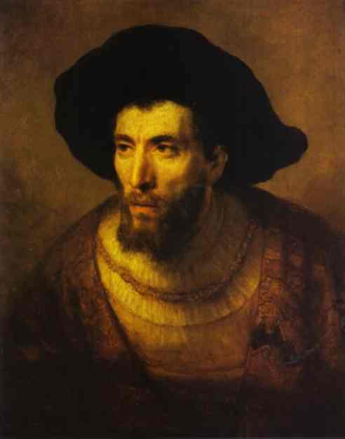 The Philosopher 1650 | Rembrandt | Oil Painting