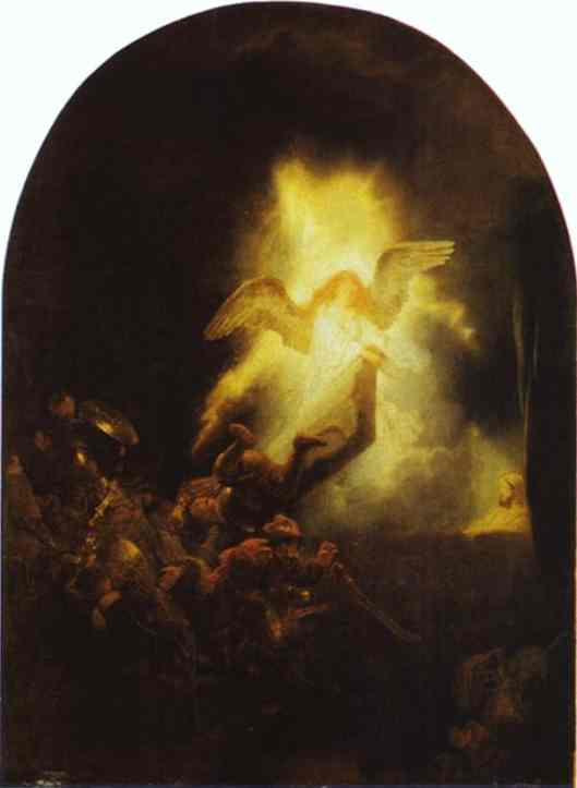 The Resurrection Of Christ 1635-39 | Rembrandt | Oil Painting