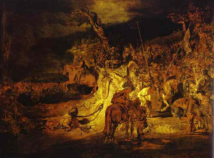 The Unity (Agreement) In The Country 1641 | Rembrandt | Oil Painting