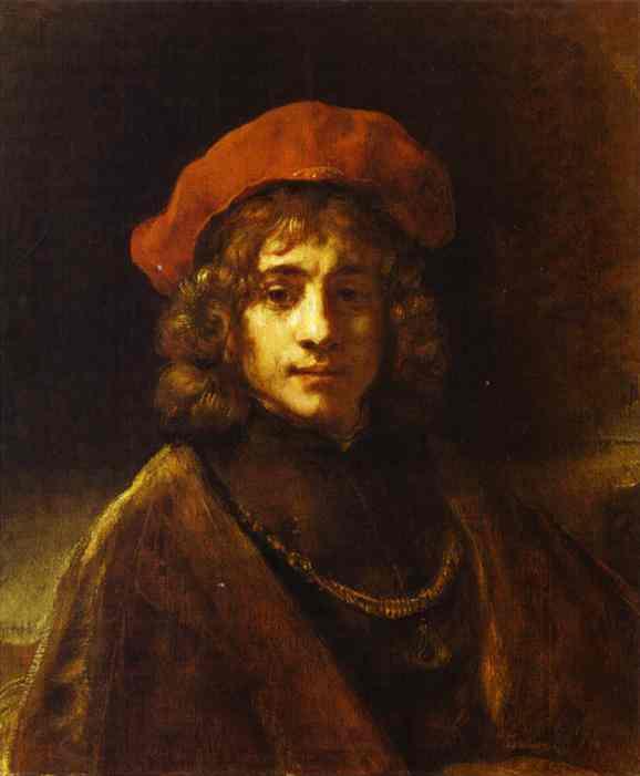 Titus 1658 | Rembrandt | Oil Painting