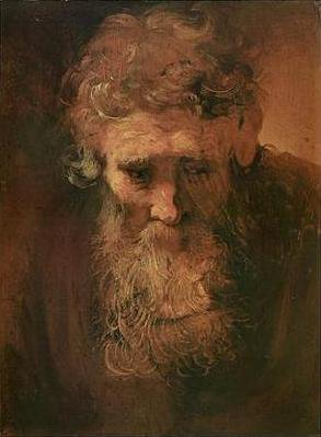 Study of an Old Man | Rembrandt | Oil Painting