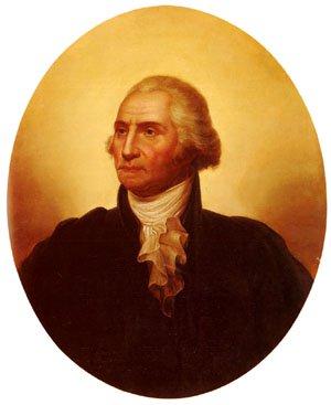 Portrait of George Washington | Rembrandt Peale | Oil Painting