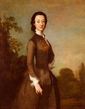 Portrait Of A Lady Possibly A Member Of The Foley Family | Richard Wilson | Oil Painting