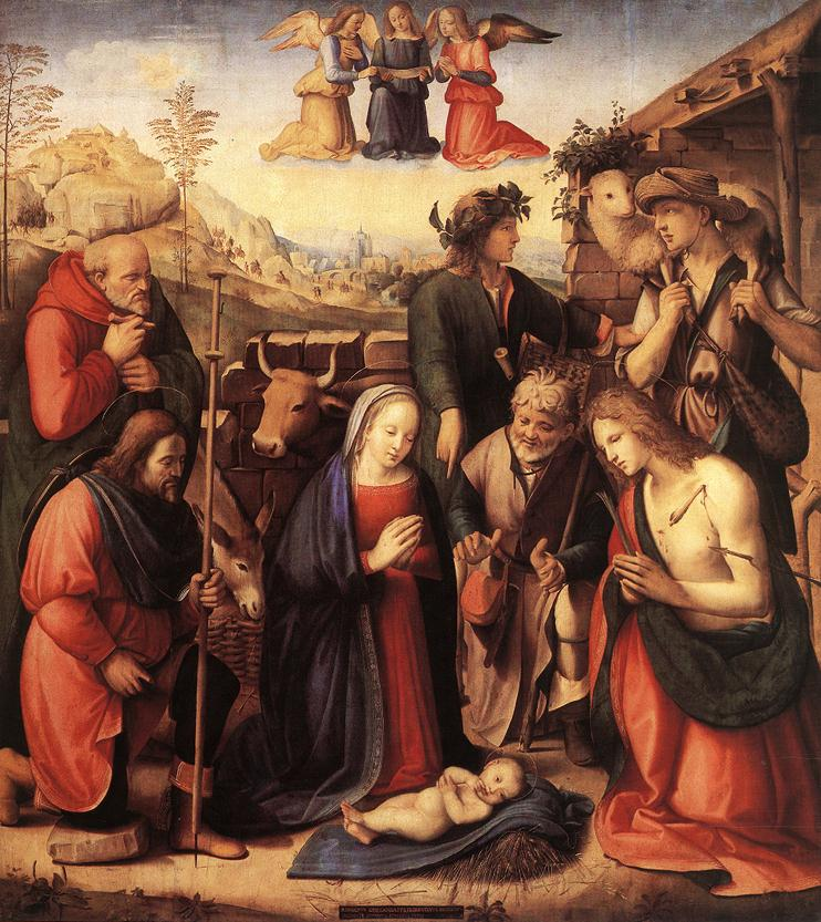 Adoration Of The Shepherds 1510 | Ridolfo Ghirlandaio | Oil Painting