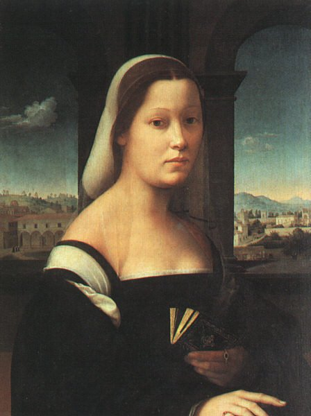Portrait Of A Women Called The Nun 1506-10 | Ridolfo Ghirlandaio | Oil Painting