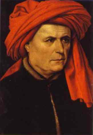Portrait Of A Man 1430 | Robert Campin | Oil Painting