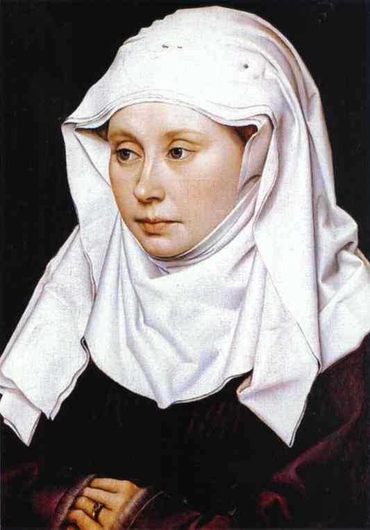 Portrait Of A Woman 1430 | Robert Campin | Oil Painting