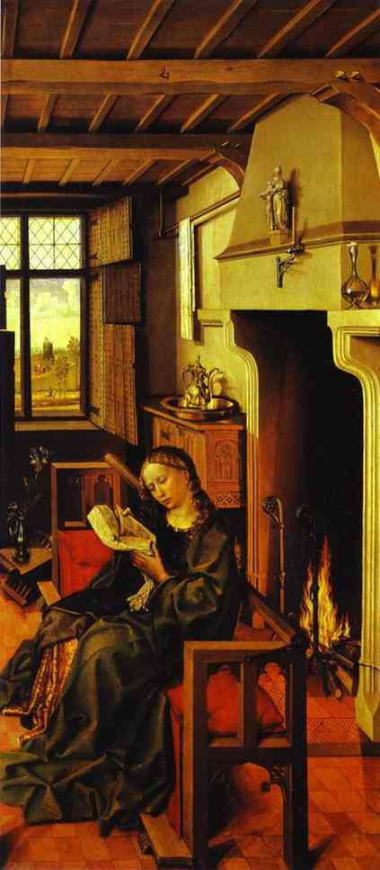 St Barbara 1438 | Robert Campin | Oil Painting