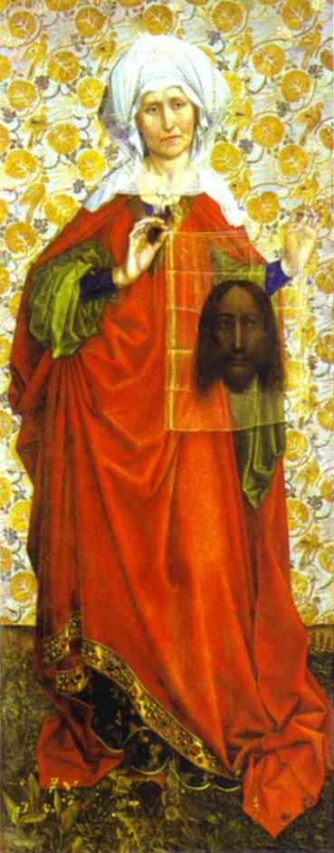 St Veronica 1430 | Robert Campin | Oil Painting