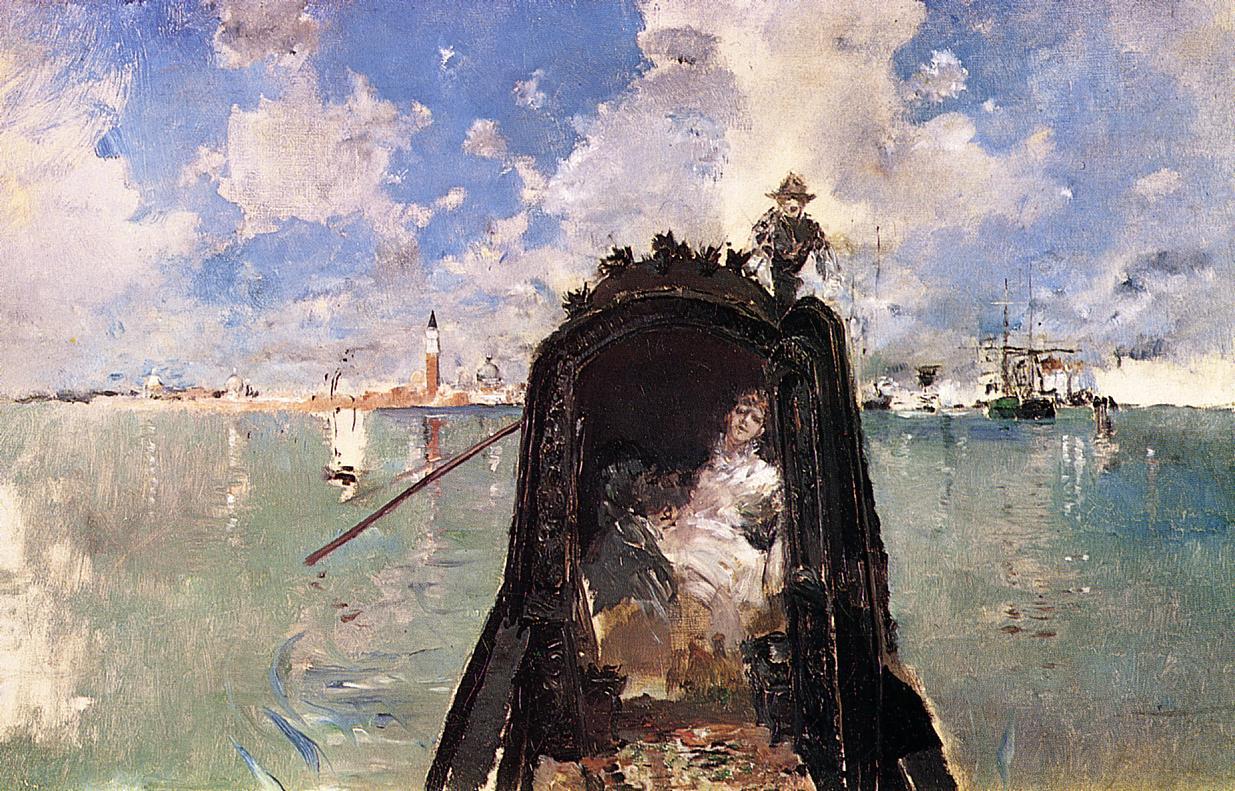 In the Gondola  1889 | Robert Frederick Blum | Oil Painting